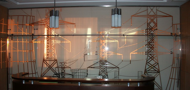 Декоративная  тонировка стекол