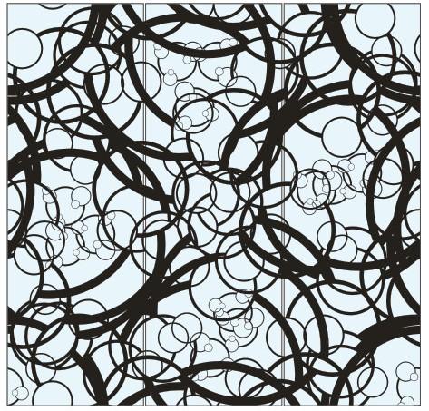 Абстрактный узор из оракала 10