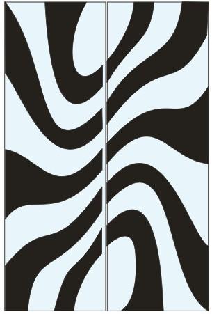 Абстрактный узор из оракала 13