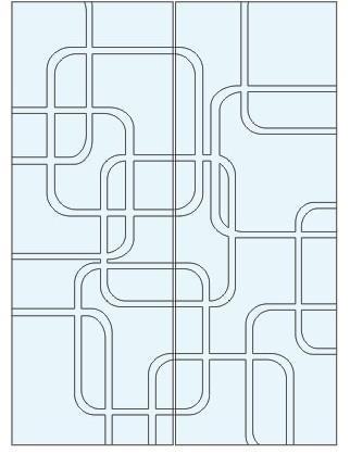 Абстрактный узор из оракала 3