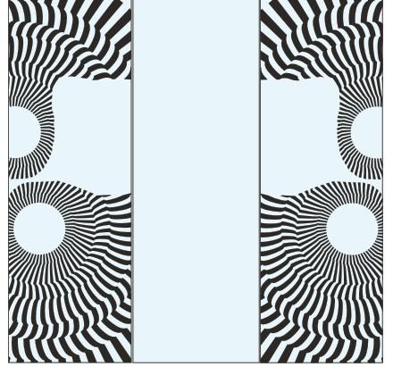 Абстрактный узор из оракала 7