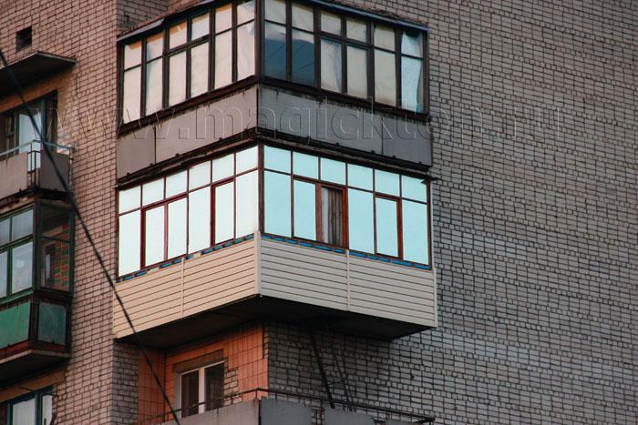 Тонирование балкона …