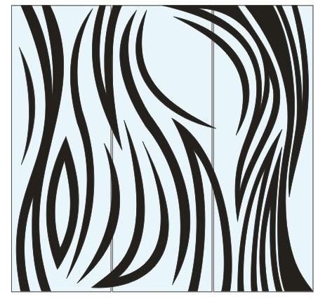 Абстрактный узор из оракала 11