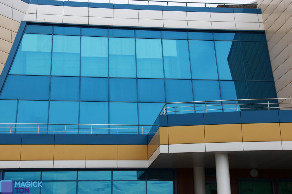 выполненная работа на ул. Kлючевая, площадь 700 кв.м.